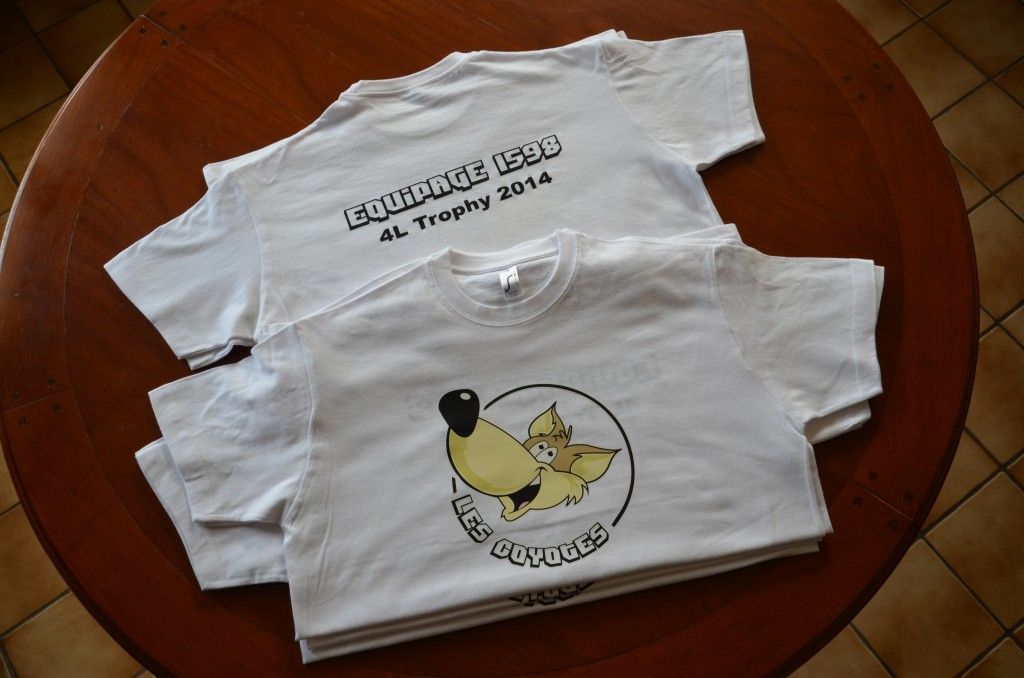 T-Shirts Les Coyotes